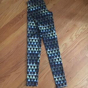 Mossimo Extra Small Full Length Triangle Leggings